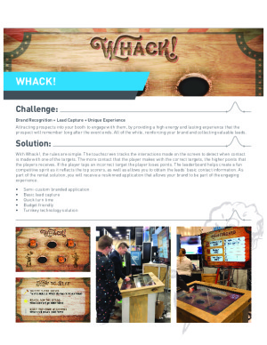 WHACK Interactive Game